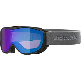 Alpina Challenge 2.0 Multimirror S2 Maschera, black-grey/blue